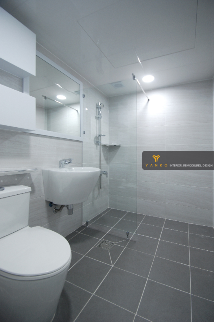 얀코인테리어 現代浴室設計點子、靈感&圖片