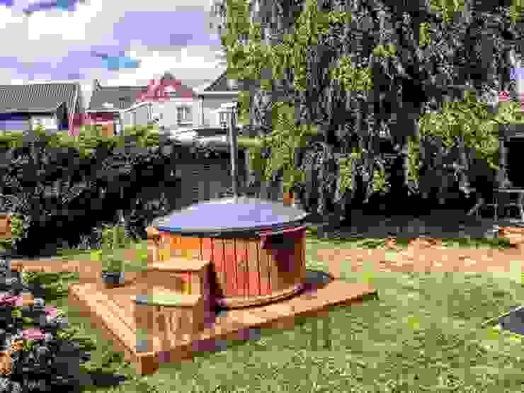Spa de estilo  por TimberIN vascaidromassagio - sauna,