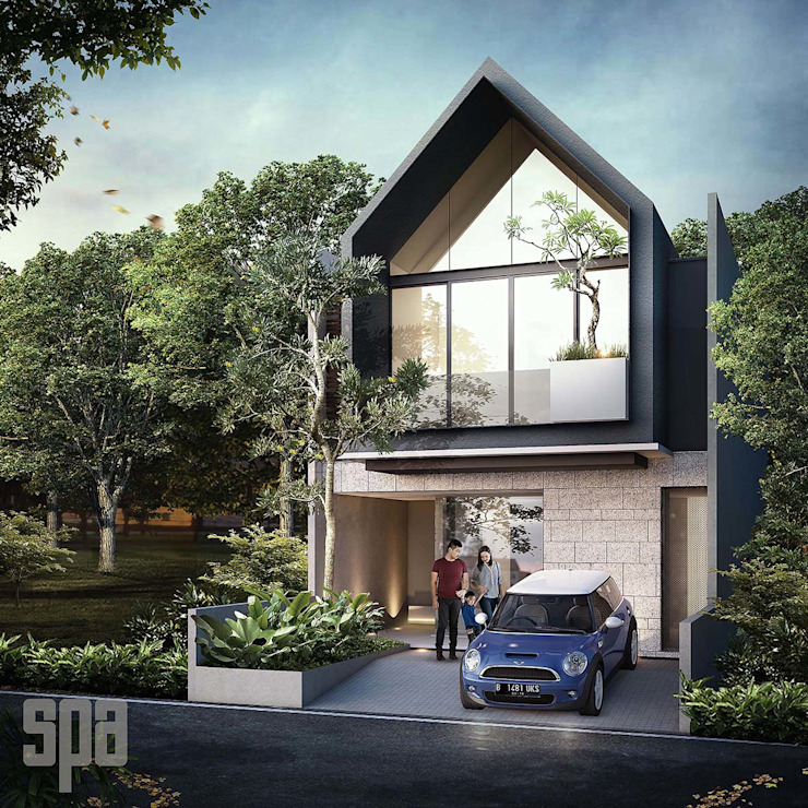 HHH house Oleh Simple Projects Architecture Tropis