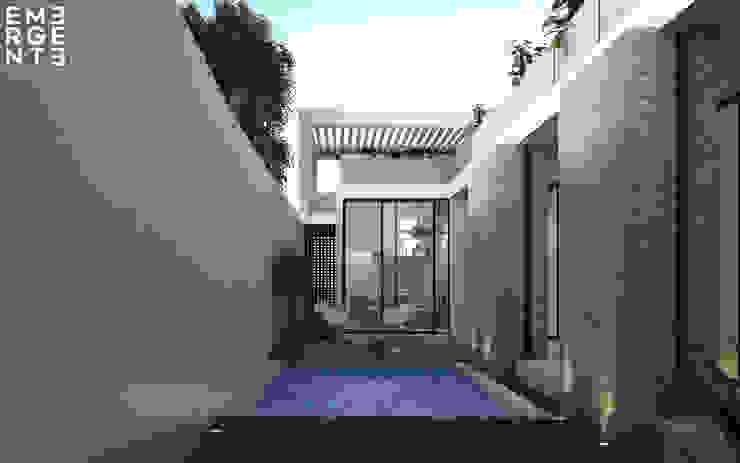 PATIO EMERGENTE | Arquitectura Albercas eclécticas