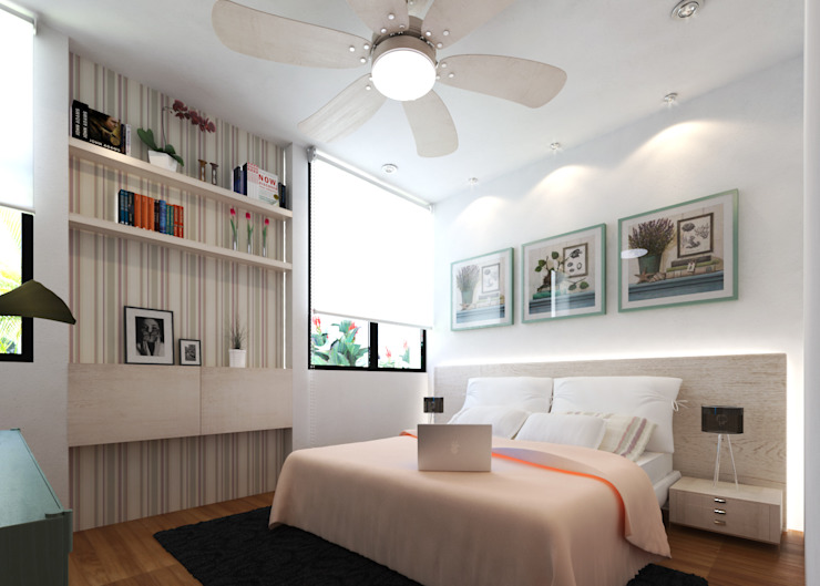 Bedroom by EMERGENTE | Arquitectura,