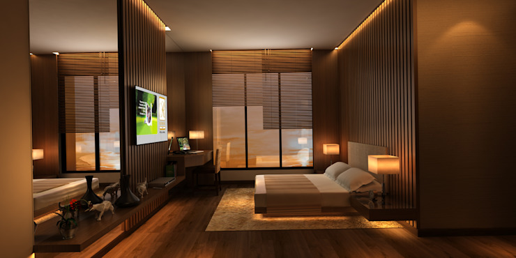 bedroom by omkarcreateurs