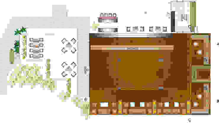 sketch for bar elevation by omkarcreateurs