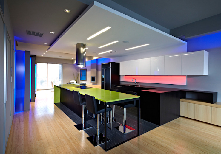 Klub Kitchen - Lenny's Place Modern Kitchen by KUBE architecture Modern