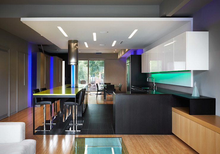 Klub Kitchen—Lenny's Place Modern Dining Room by KUBE architecture Modern