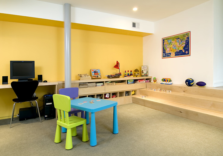 Forest House Modern Kid's Room by KUBE architecture Modern