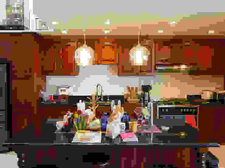 Black Galaxy Granite Kitchen Countertop at Greenhills Subdivision in Mandaue City by Stone Depot Classic