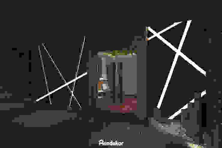 Exterior Ruang Komersial Modern Oleh Mendekor Modern