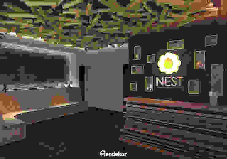 Lobby Ruang Komersial Modern Oleh Mendekor Modern