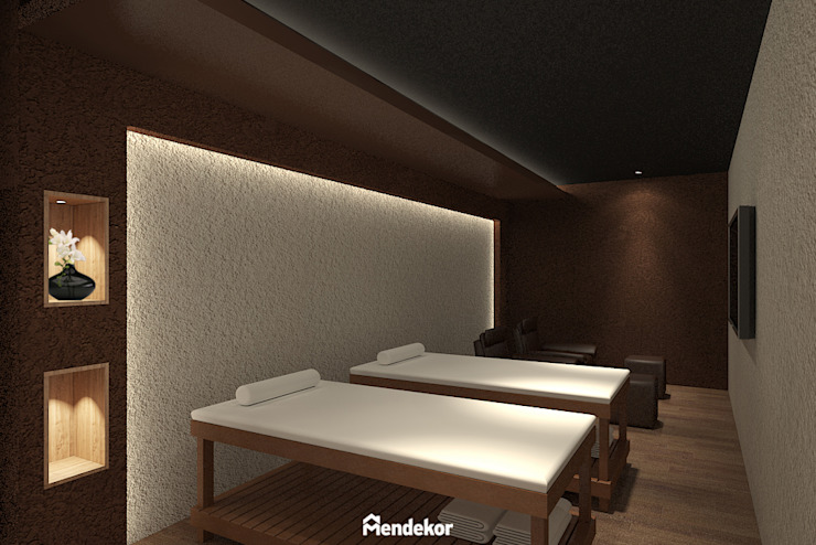 VIP Reflexology Room Ruang Komersial Modern Oleh Mendekor Modern