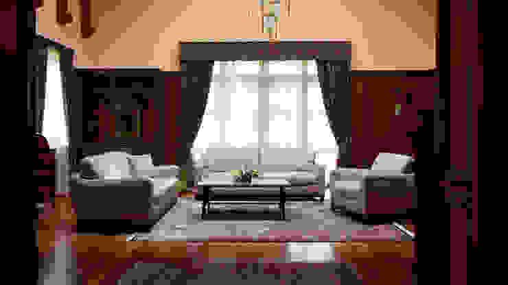 Herend | Living Room 식민지스타일 거실 by GD Arredamenti 콜로니얼 (Colonial)