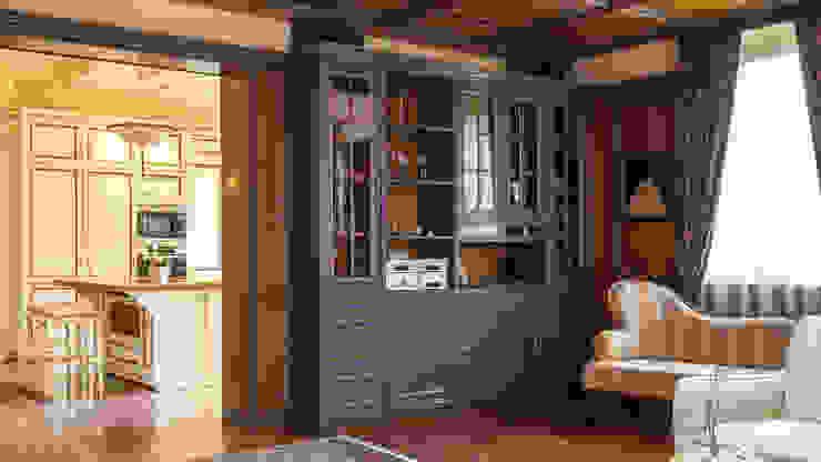 Herend | Living Room 식민지스타일 거실 by GD Arredamenti 콜로니얼 (Colonial) 솔리드 우드 멀티 컬러
