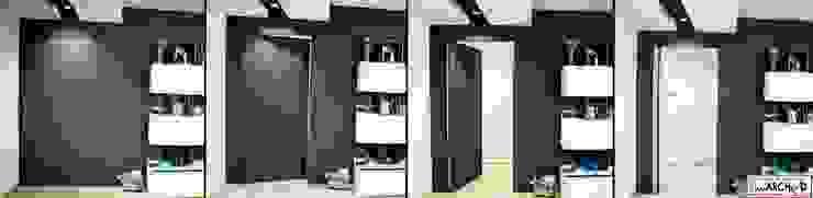Linea Direttrice Pareti & Pavimenti in stile minimalista di Studio ARCH+D Minimalista