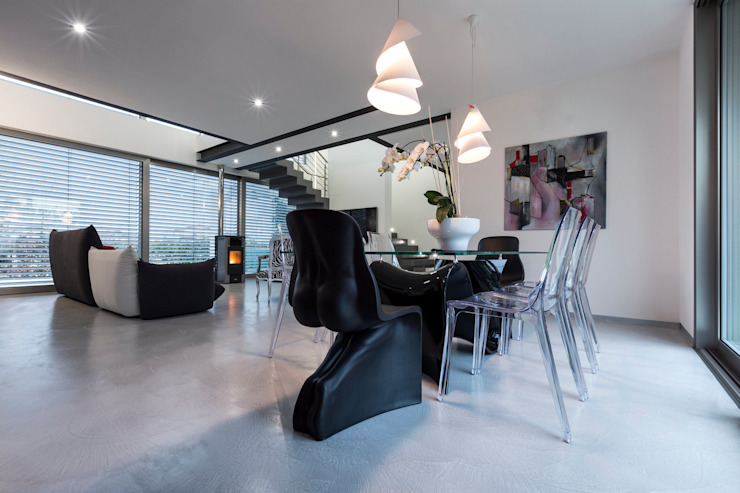 Casa PA Sala da pranzo moderna di Elia Falaschi Fotografo Moderno