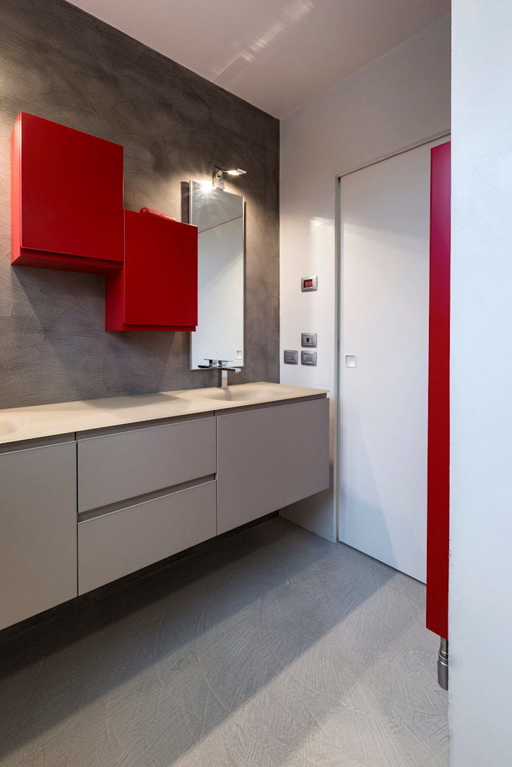 Casa PA Bagno moderno di Elia Falaschi Fotografo Moderno