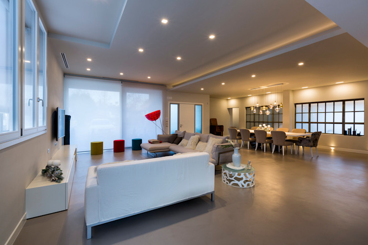 Modern living room by Elia Falaschi Fotografo Modern