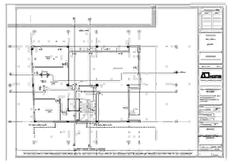 Nhà ở kết hợp siêu thị: hiện đại  by công ty cổ phần kiến trúc và nội thất adhome, Hiện đại