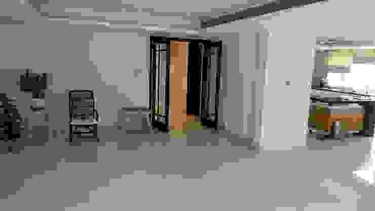 Vijay Kochhar Residence Modern living room by Sion Projects Modern