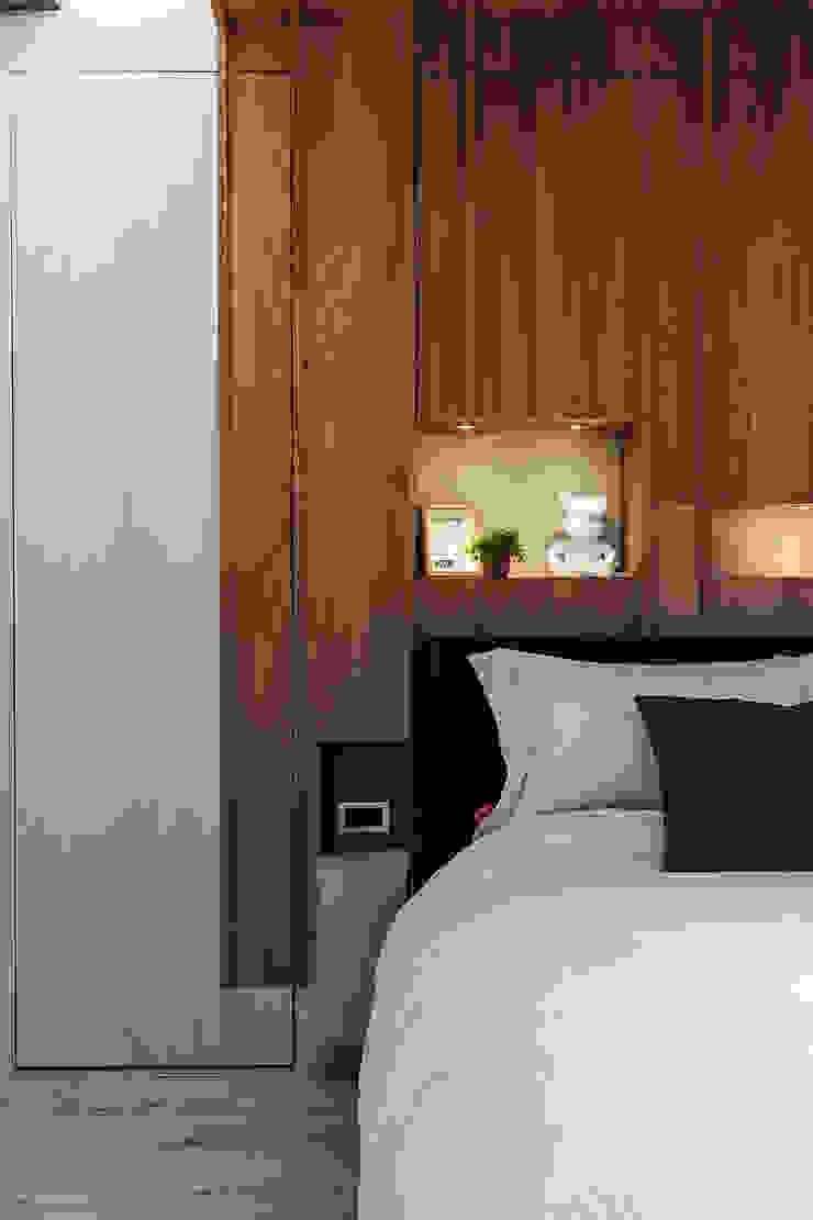 流光 根據 漢玥室內設計 現代風 塑木複合材料