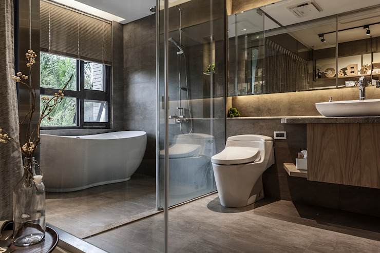 Modern bathroom by 漢玥室內設計 Modern Marble
