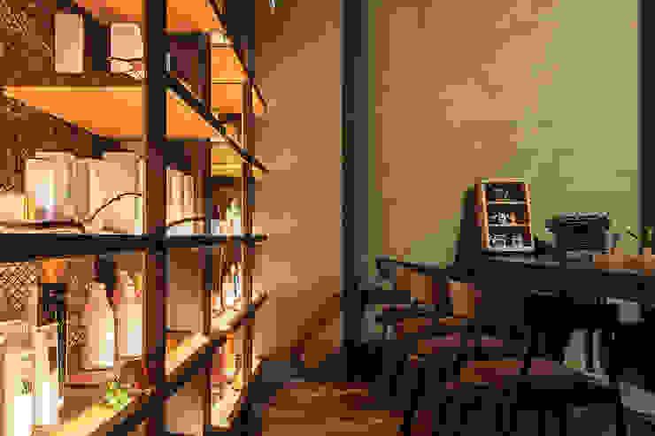 G space 髮廊商業空間設計 根據 漢玥室內設計 工業風 大理石