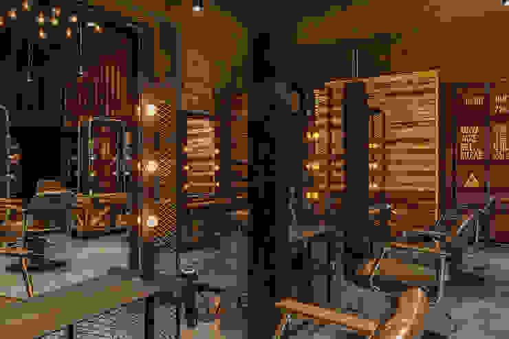 符合人體工學與空間利用的鏡台設計 根據 漢玥室內設計 工業風 塑木複合材料