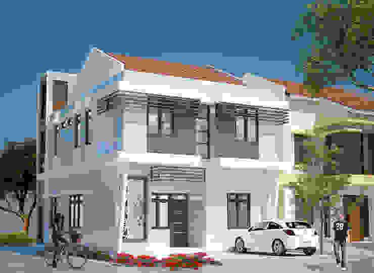 Rumah Kos 2 Lantai Rumah Minimalis Oleh Adhicitta Karya Megah Minimalis