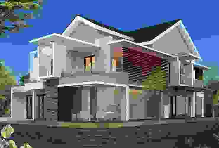 Rumah Tinggal 2 lantai - Pondok Indah Rumah Minimalis Oleh Adhicitta Karya Megah Minimalis