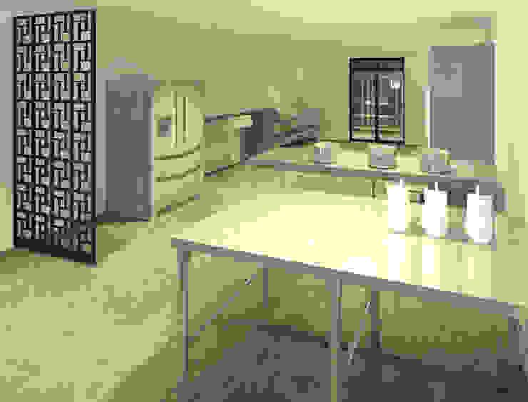 Cocina industrial Cocinas modernas de Perfil Arquitectónico Moderno