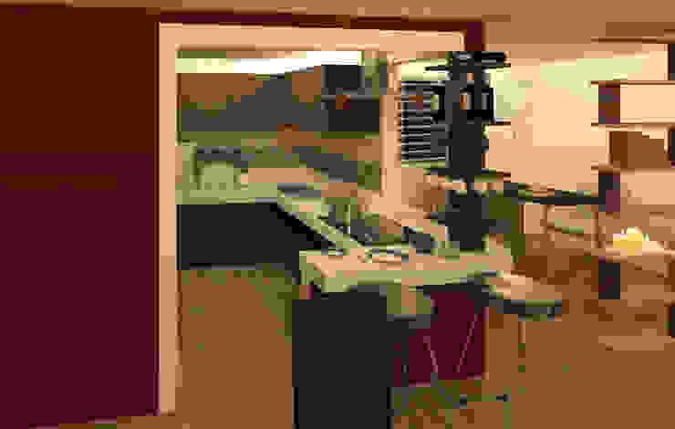 Кухни в . Автор – Perfil Arquitectónico, Модерн