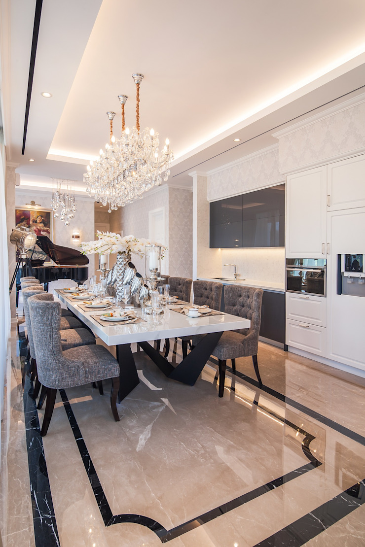 Modern dining room by PT. Dekorasi Hunian Indonesia (DHI) Modern