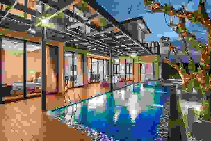 PT. Dekorasi Hunian Indonesia (DHI) Modern pool