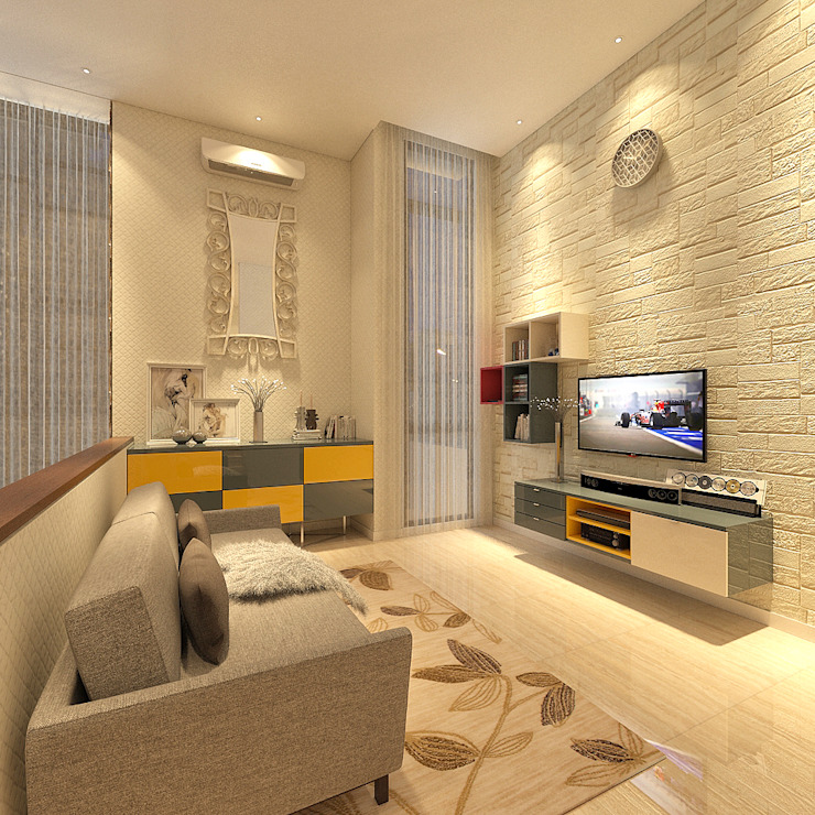 Modern living room by PT. Dekorasi Hunian Indonesia (DHI) Modern
