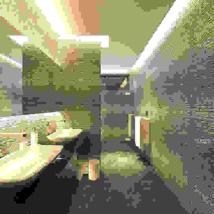 PRIVATE RESIDENTIAL @ NAVAPARK, BSD CITY, TANGERANG Kamar Mandi Modern Oleh PT. Dekorasi Hunian Indonesia (DHI) Modern