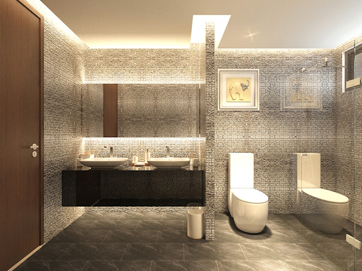 Modern Bathroom by PT. Dekorasi Hunian Indonesia (DHI) Modern