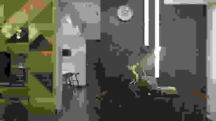 LUXURIOUS MASCULINE APARTMENT @ SEASON CITY, WEST JAKARTA Ruang Studi/Kantor Modern Oleh PT. Dekorasi Hunian Indonesia (DHI) Modern