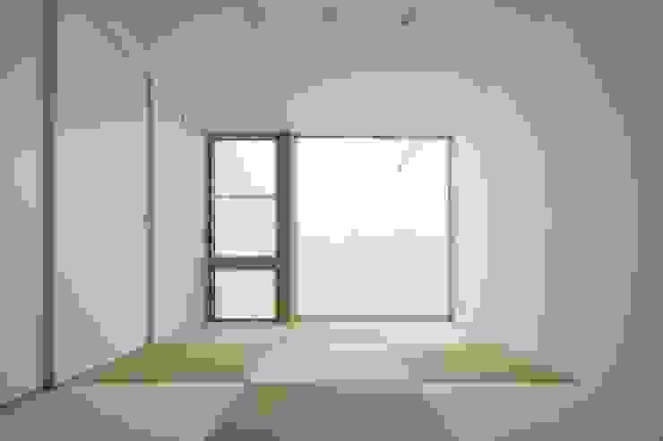 神栖の歯科医院兼住宅 Studio R1 Architects Office モダンな医療機関