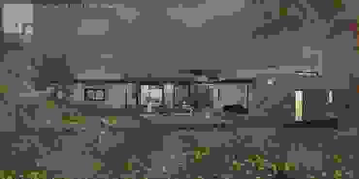 Render Vivienda Premium 115m2 Fundo Loreto. Territorio Arquitectura y Construccion - La Serena