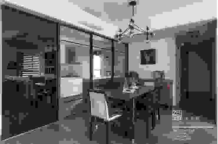 百玥空間設計 ─ 思/靜 ─ 餐廳 根據 百玥空間設計 隨意取材風 石灰岩