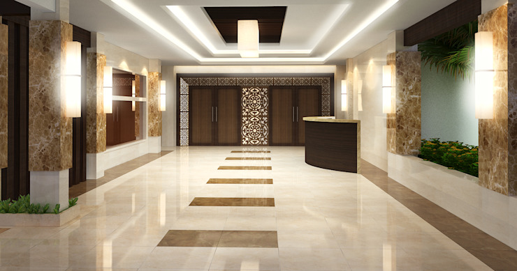 SMR Convention Center by TWINE Interior Design Studio
