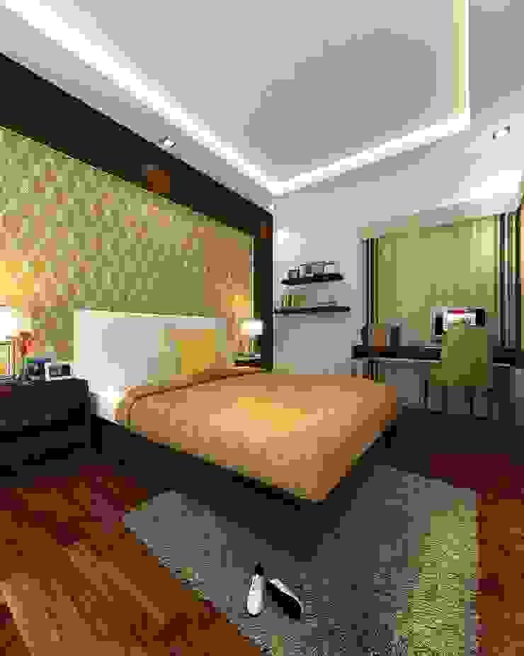 Dormitorios de estilo moderno de TWINE Interior Design Studio Moderno