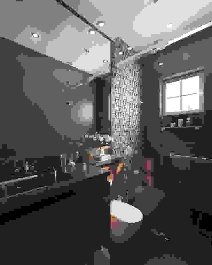 Salle de bain moderne par TWINE Interior Design Studio Moderne