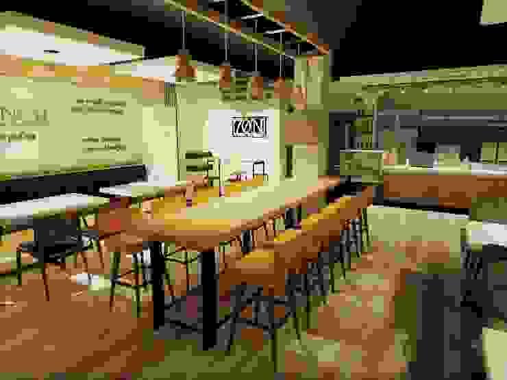 Coffee & Drinkery by TWINE Interior Design Studio Modern