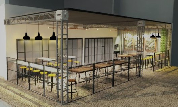 Coffee & Drinkery TWINE Interior Design Studio Commercial Spaces