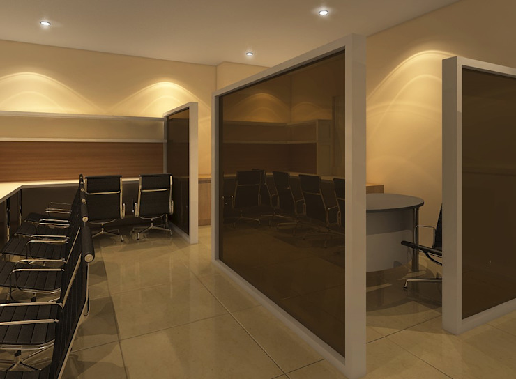 Avatar Technologies Minimalist corridor, hallway & stairs by TWINE Interior Design Studio Minimalist