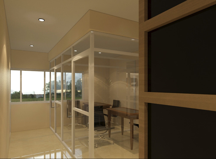 Avatar Technologies by TWINE Interior Design Studio Minimalist