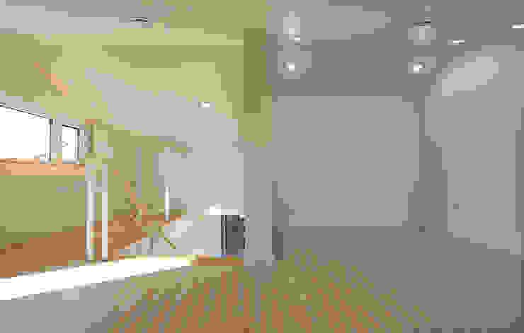 진원면 단독주택 모던스타일 미디어 룸 by 인우건축사사무소 모던
