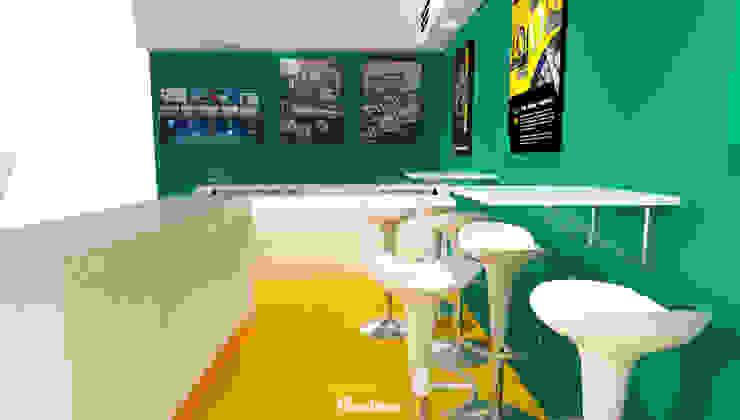 Display & Seating Area Ruang Komersial Modern Oleh Mendekor Modern