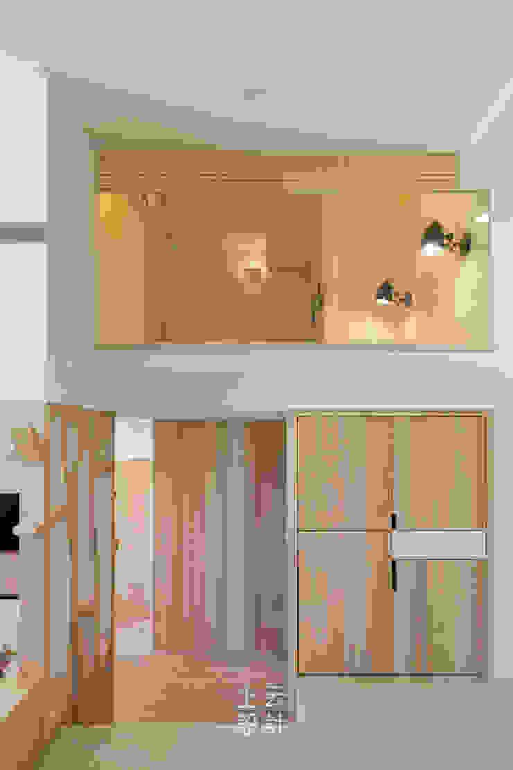 14坪錯層-清爽活潑親子宅 根據 上云空間設計 現代風