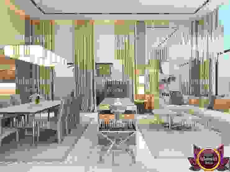 Luxury home design and decor by Katrina Antonovich Modern living room by Luxury Antonovich Design Modern